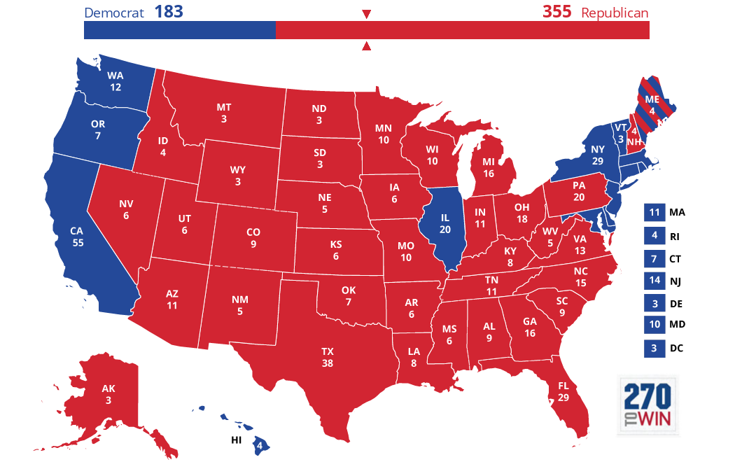 2020 US Presidential Election (Da Best)