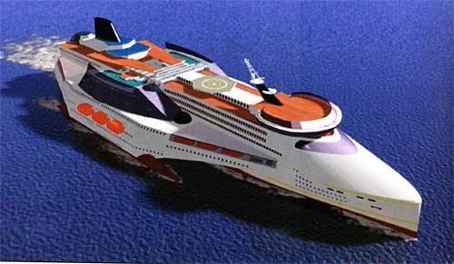 Pacific Forum Line (Scenario: The World's Liferaft)