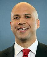 Cory Booker, official portrait, 114th Congress