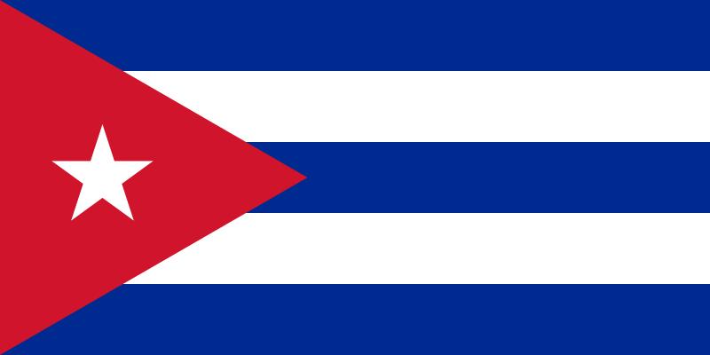 Country data Cuba