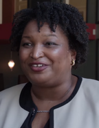Stacey Abrams in May 2018