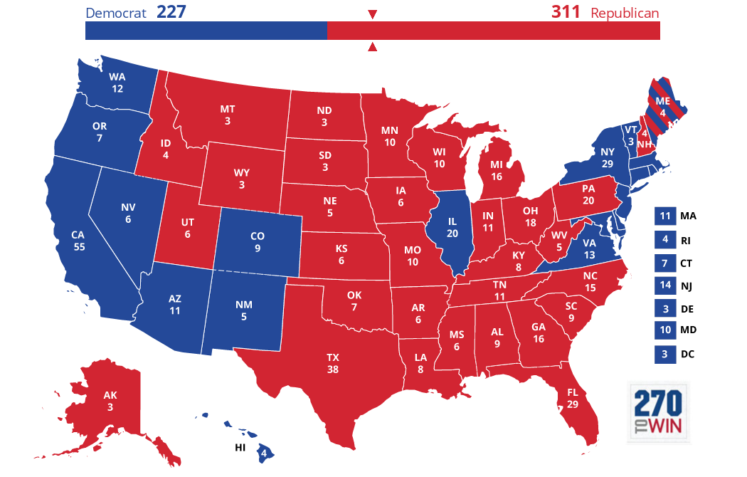 2024 US Presidential Election (Da Best)