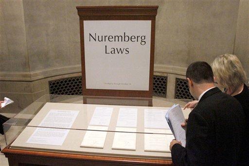 Nuremberg Laws (Project Paladin)