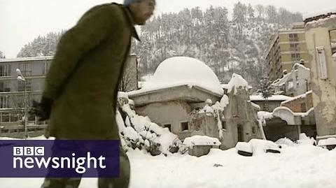 The killing fields of Srebrenica - Newsnight archives (1996)