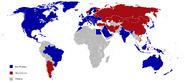 WWIII ally map