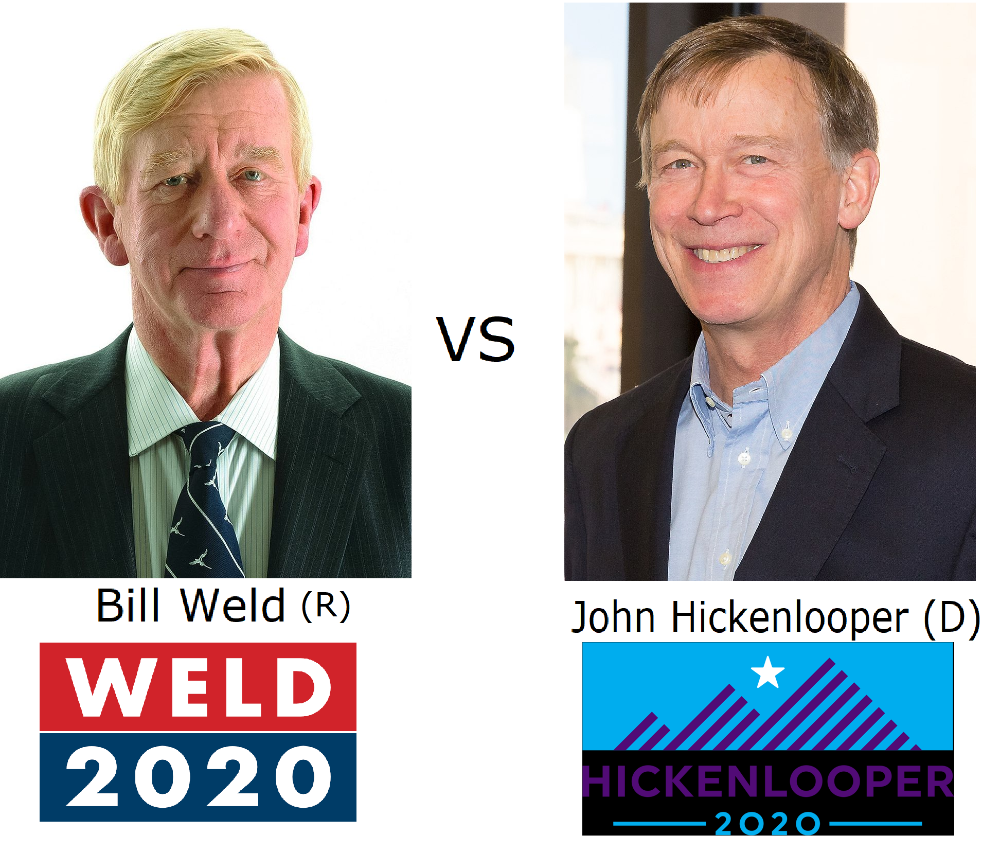 2020 US Presidential Elections (Weld Beats Trump)