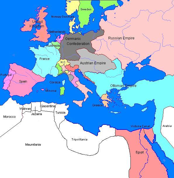 map of europe 1875 Europe in 1875 | Sobel Wiki | Fandom