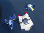 Lap1 (2) Blue Falcon, Dragon Bird & and Astro Robin!