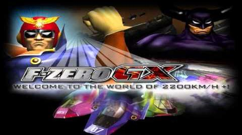 F-Zero GX AX Music Story Mode Chapter 6 - Black Shadow's Trap