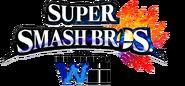 Super Smash Bros For Nintendo Wii New English Transparental Logo