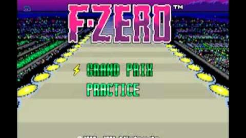 F-Zero (SNES) Music - Death Wind