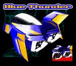 BSFZGP1 Blue Thunder Profile Rear