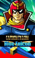 Captain Falcon with Blue Falcon (Climax)