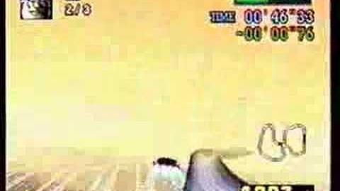 """F-Zero X Time Attack Mute City 4 (1'15""""639)"""