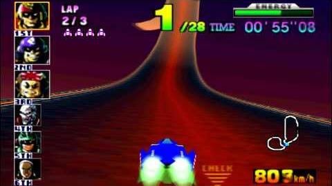 F-Zero_X_(N64)_walkthrough_-_Fire_Field
