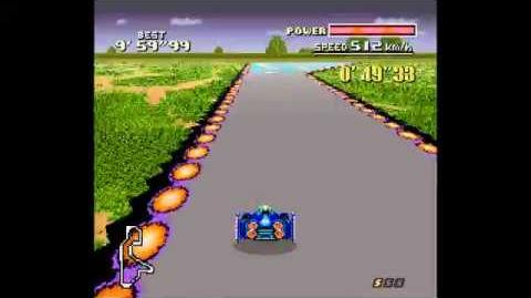 SNES F-Zero - Forest Venue Example