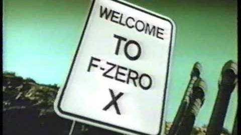 F-Zero X (1998) USA Commercial-0