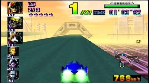 F-Zero X (N64) walkthrough - Mute City 3