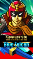 Captain Falcon With Blue Falcon 2