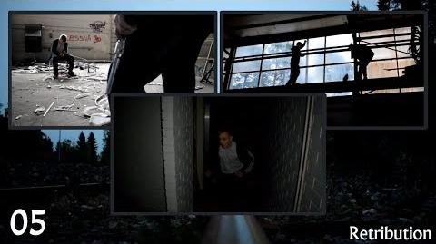Man gets kidnapped in haunted factory