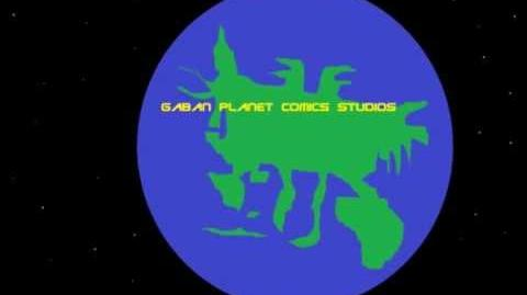 Gaban Planet Comics Productions Opening Sequence