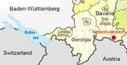 Neuschwanstein Location