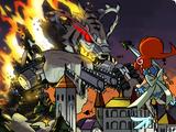 Wrath of Gaia: Gaia-tan VS Byakko