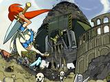 Wrath of Gaia: Gaia-tan VS Genbu