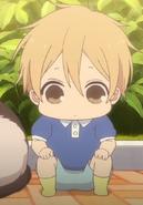 Takuma in the anime