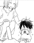 Ryuuichi and his mother