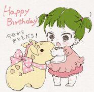 Kirin birthday image