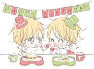 Takuma and Kazuma birthday image