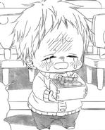 Kotaro crying