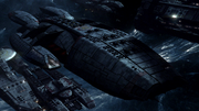 Blood & Chrome - Galactica exterior 1.png