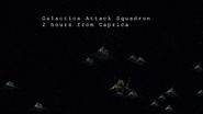 Miniseries Night 1 - Galactica's Mark VII squadron 1
