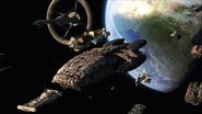 Daybreak Part 3 - Galactica and fleet 1