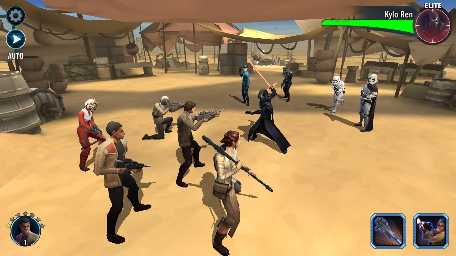 Star Wars: Galaxy of Heroes | Wookieepedia | FANDOM ...