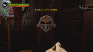 Fortesque Helmet found