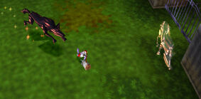 Graveyard Guardians Fight