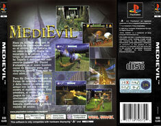 MediEvil - Back Cover PAL