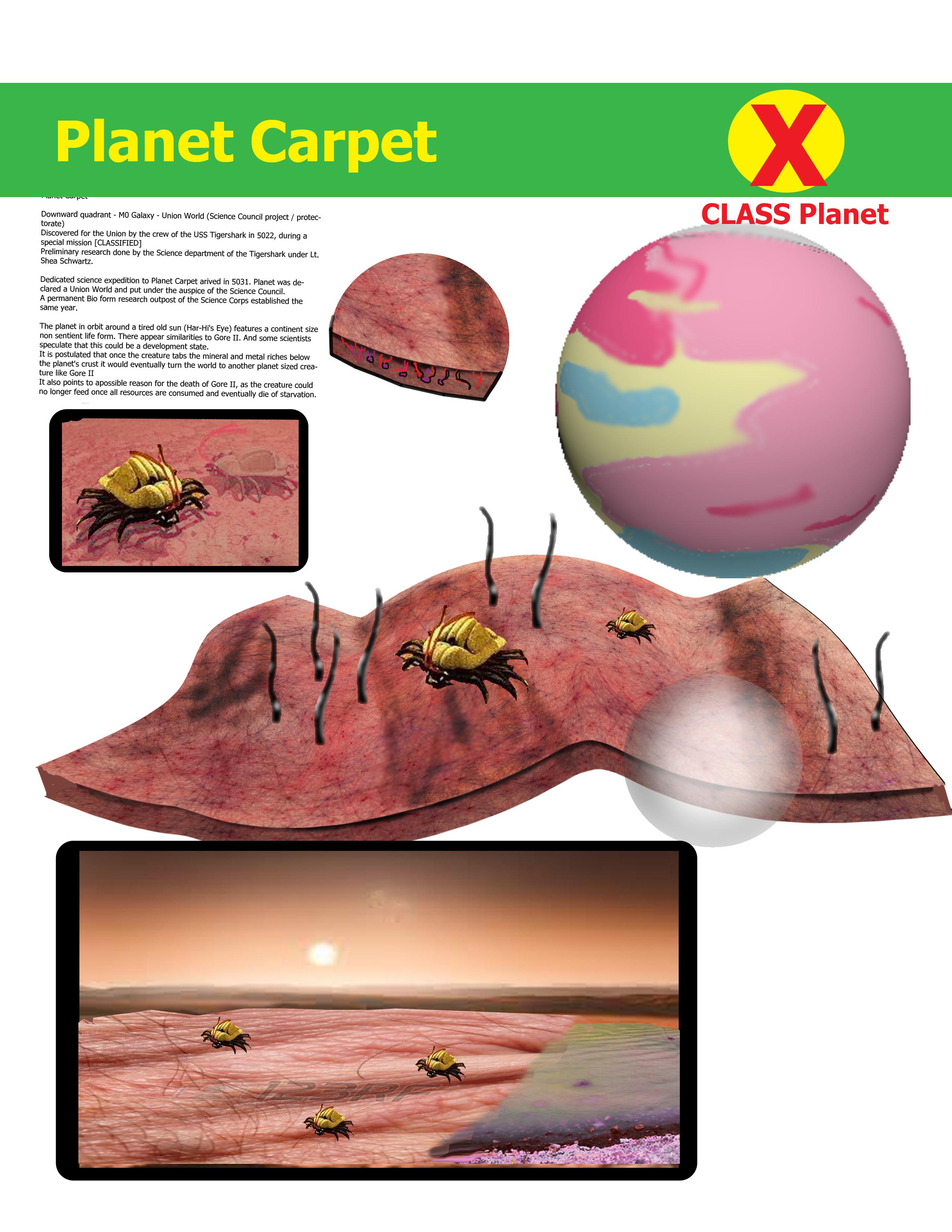 Carpet,Planet