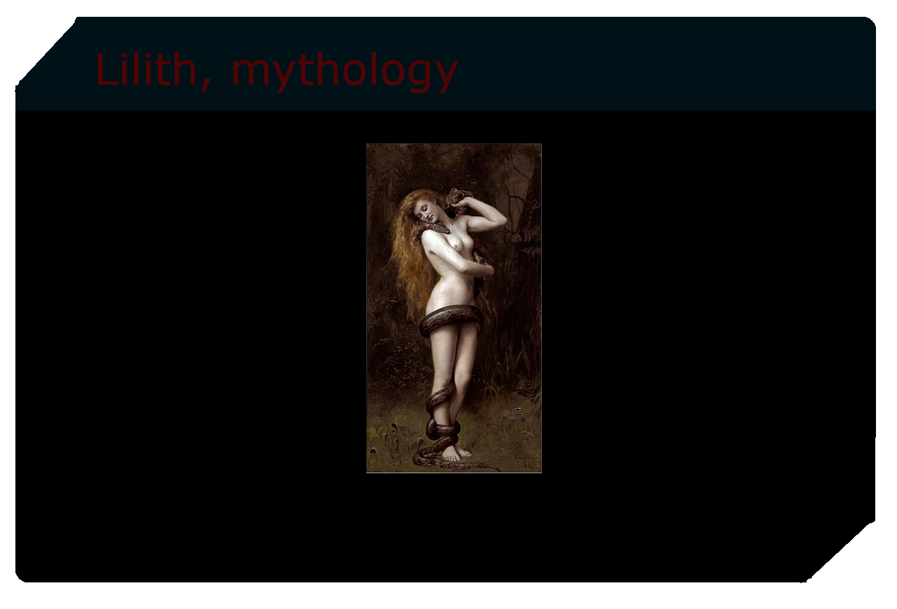 Lilith, Jewish