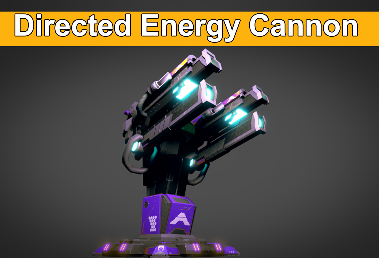 Directed Energy cannons