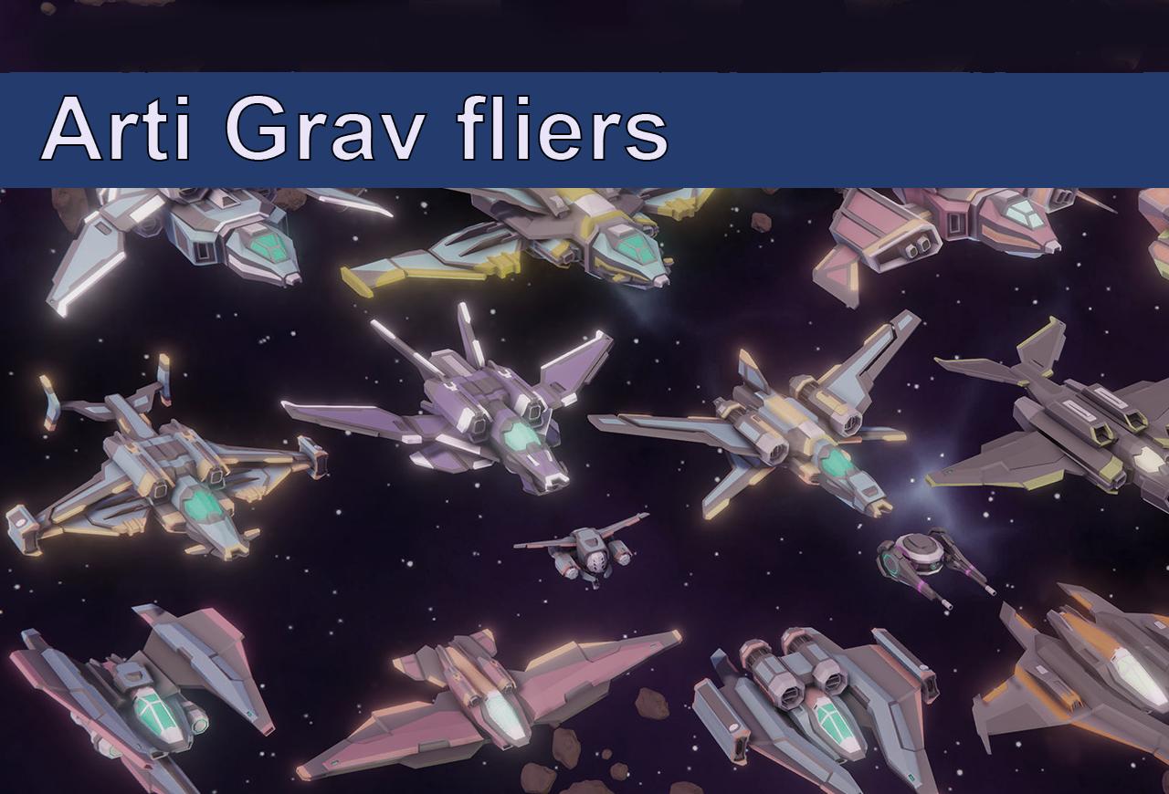 Arti Grav fliers