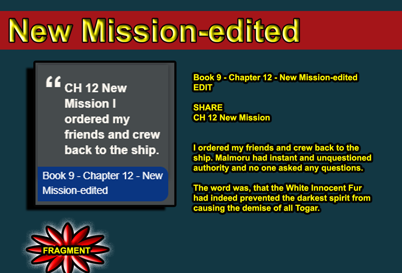 Book 9 - Chapter 12 - New Mission-edited