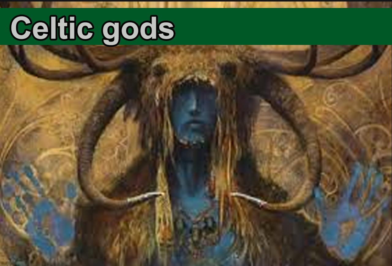 Celtic gods and goddesses