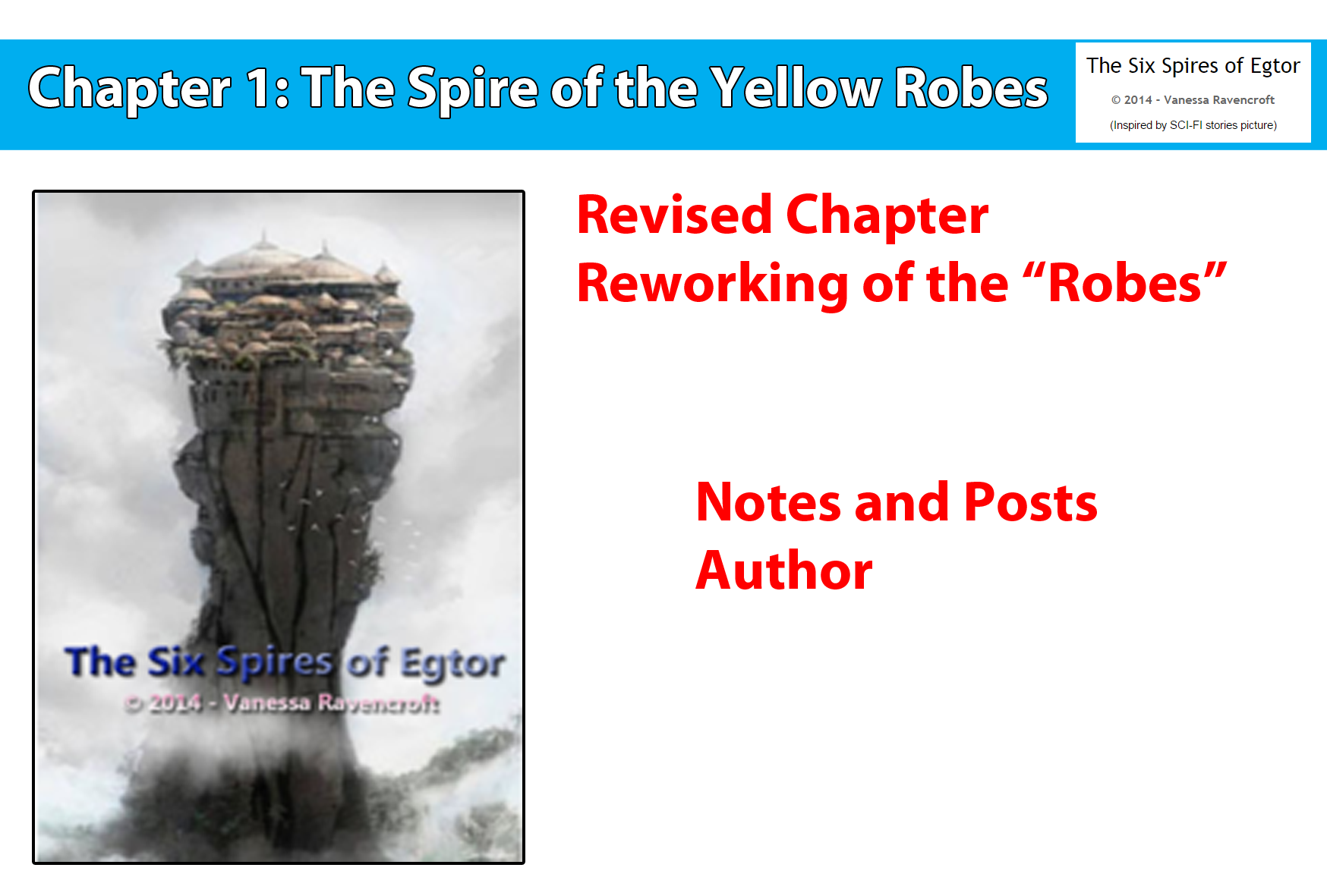 Chapter 1: The Spire of the Yellow Robes