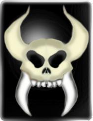 Skull like symbol
