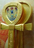 Holder of the sacred ankh