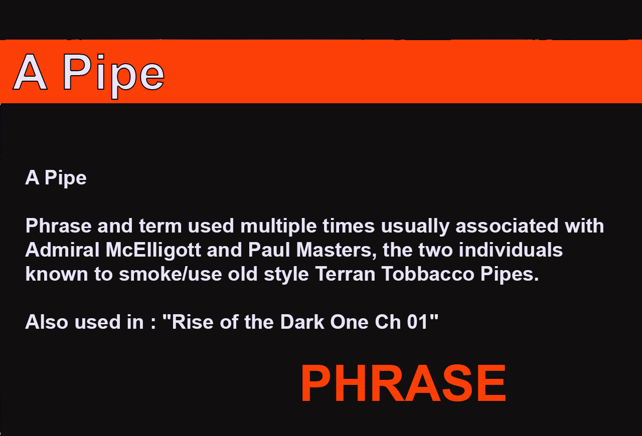 A pipe
